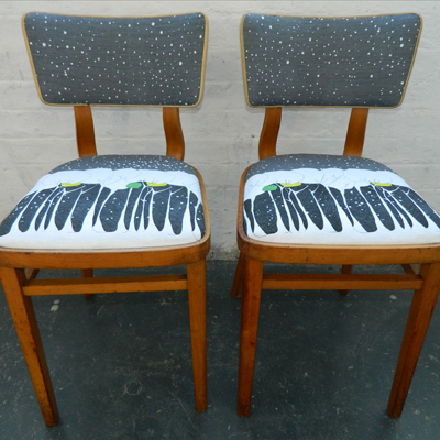 Children's  Chairs Bespoke Fabric