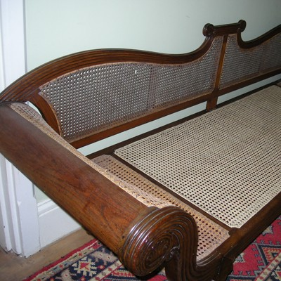 Cane Daybed 19th Century